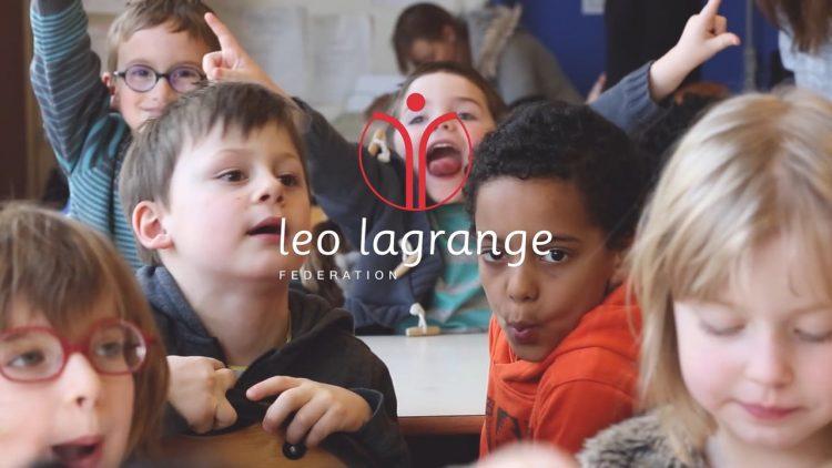 la Fédération Léo Lagrange présente l'accueil de loisirs